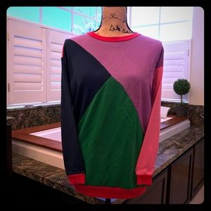 Sweaters - 3/$20 Vintage Color Block Sweater